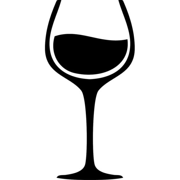 wine-glass-vector-image
